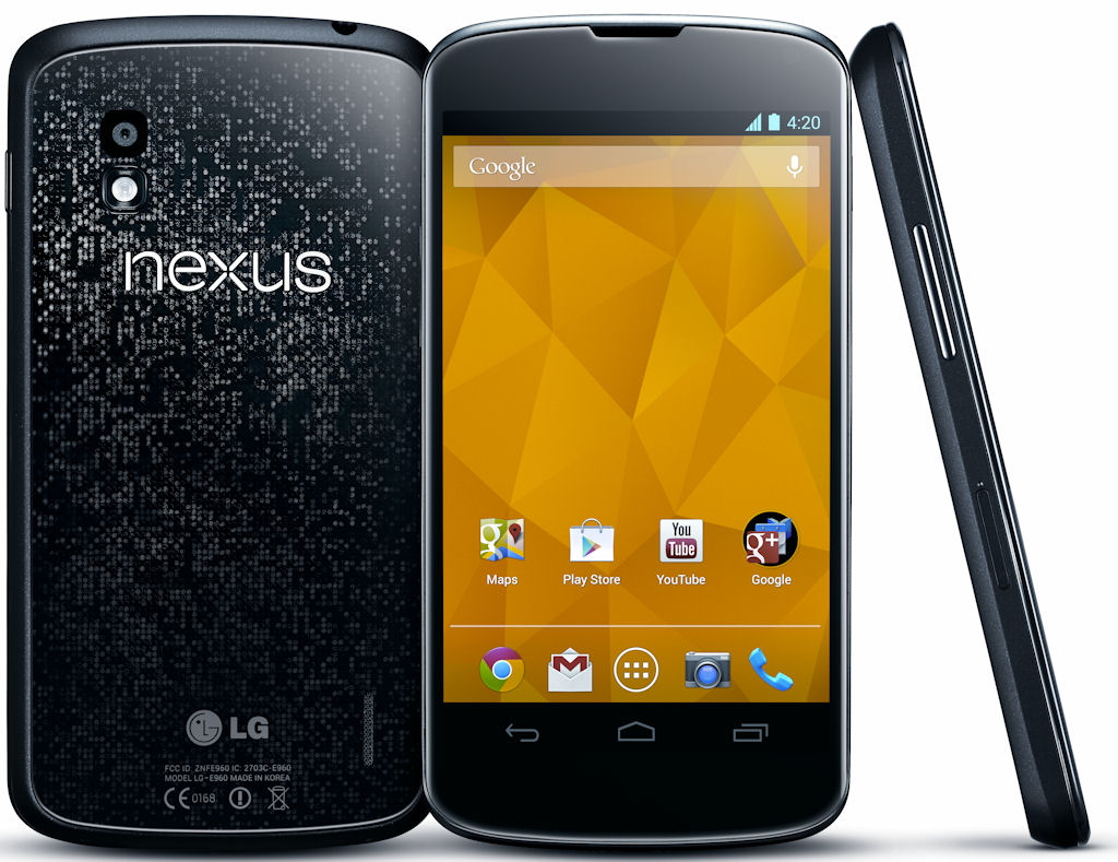 Gut Reactions: Google Nexus 4 Smartphone