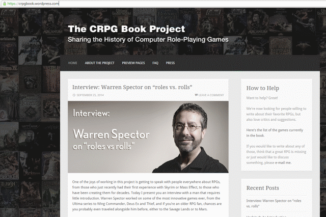 The CRPG Book Project – Felipe Pepe