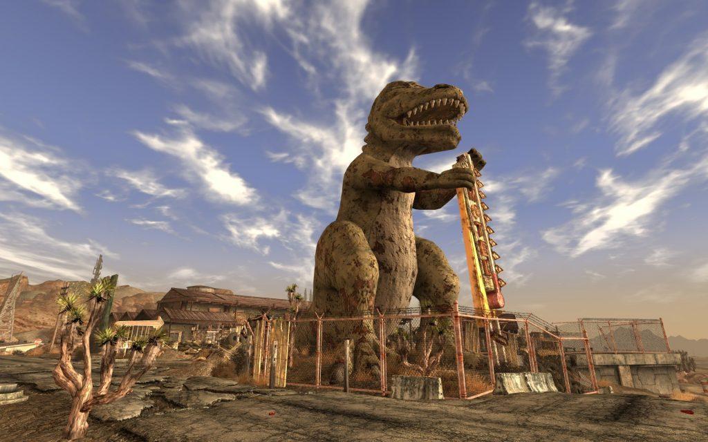 Fallout: New Vegas was pure dino-mite.